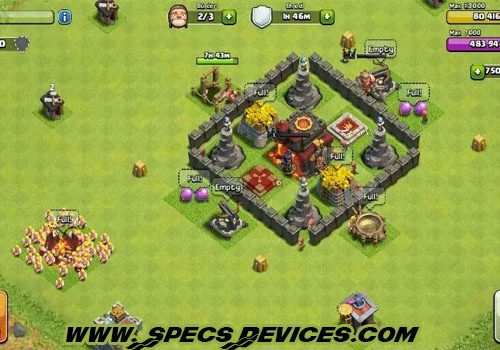 Download Clash of Clans Mod APK + OBB For Android (Unlimited